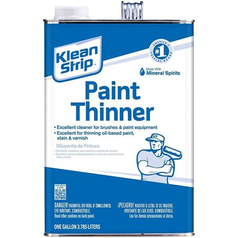 home depot paint label klean 1 gal paint thinner gkpt94002p the home depot