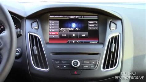 ford sync 2 sync 2 infotainment system of 2015 ford focus wagon