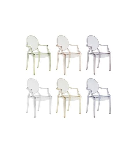 Chaise Style Kartell by Louis Ghost Chaise Kartell Milia Shop