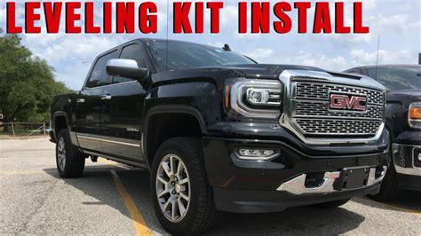 lift kits for gmc trucks 2014 chevy gmc 1500 leveling kit install