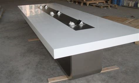 china  design modern office corian solid surface