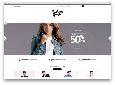themes of clothing lines clothing line wordpress theme 40 beautiful responsive