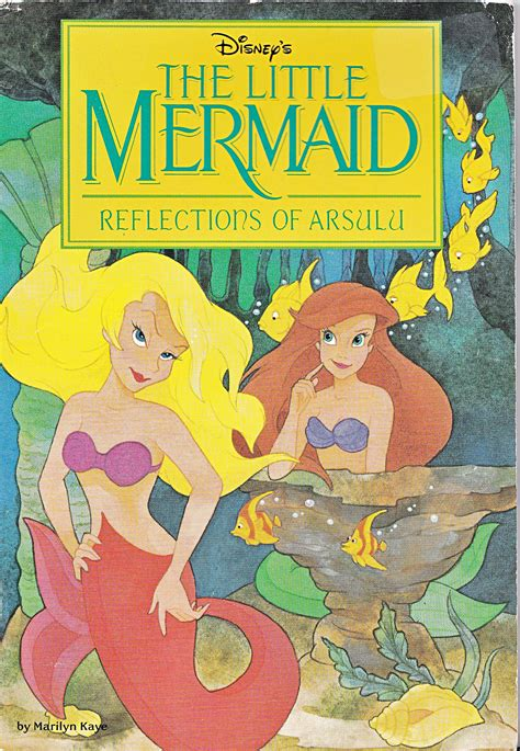disney picture books walt disney books the mermaid reflections of