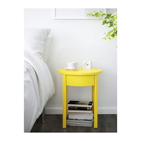Yellow Side Table Ikea Stockholm Bedside Table Yellow 42x42 Cm Ikea
