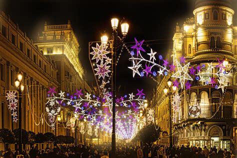 feliz navidad desde sevilla ano  avenida de la consti flickr
