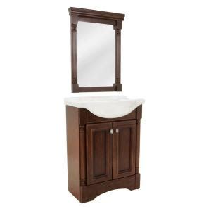 home depot vanity mirror bathroom glacier bay valencia 25 in w x 19 in d bath vanity in