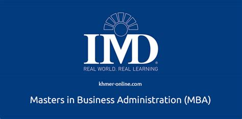 Imd Mba Ranking 2017 by Imd Mba Scholarships For Emerging Markets 2018 2019