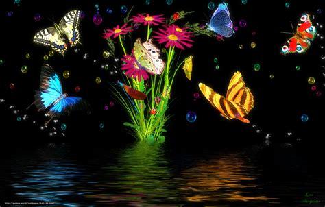sfondi desktop fiori e farfalle scaricare gli sfondi farfalle fiori 3d sfondi gratis per