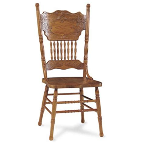 dining chairs press back oak chair 1c04 502 icfs