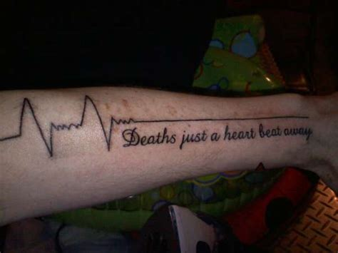 heartbeat tattoo on leg 150 attractive heartbeat tattoos designs and ideas stock