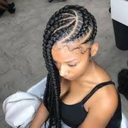 big cornrow hairstyles for black women with bangs best 25 big cornrows ideas on pinterest natural braids