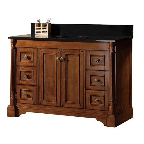 lowes 48 bathroom vanity golden elite meg48 48 in megan single sink bathroom vanity