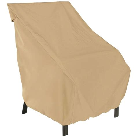 Patio Furniture Slipcovers Patio Cover High Back Chair In Patio Furniture Covers