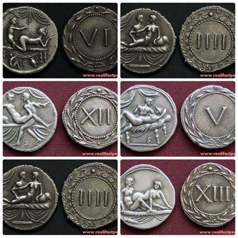 Koin Kuno 06 koin kuno khusus untuk membayar pelacur di roma bergambar