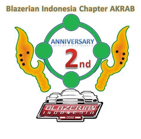 desain gambar anniversary desain logo anniversary 2 blazerian indonesia chapter