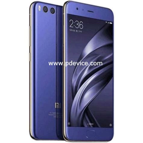 xiaomi mi 6 6gb 64gb specifications price compare features review
