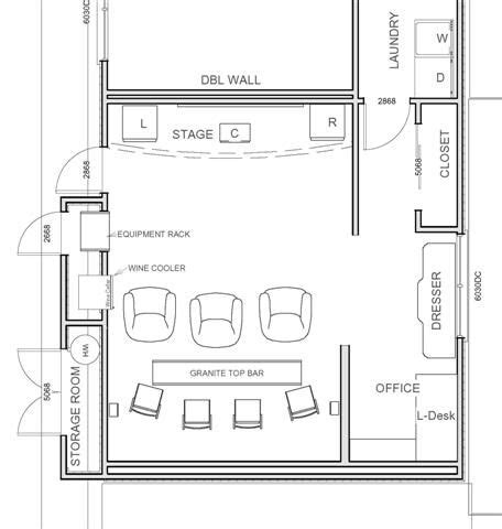 Small Home Theater Theater Floor Plans Over 5000 House Plans Home Theaters Gyms