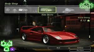 F40 Tuning Need For Speed Underground 2 F40 1987 Tuning By