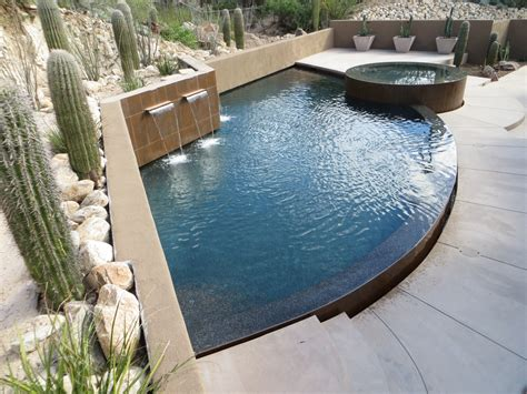 contemporary pools contemporary pools new shapes shallow depth cimarron