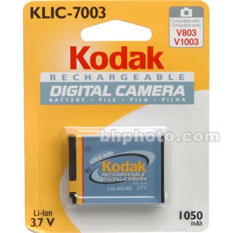 Battery Attitude Klic 7003 For Kodak kodak klic 7003 lithium ion battery 3 7v 1050mah 1926450 b h
