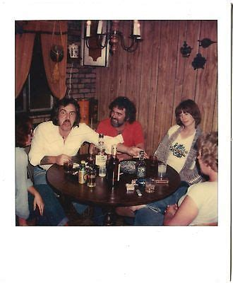 kitchen party drinking whiskey smoking tongue vtg 70s