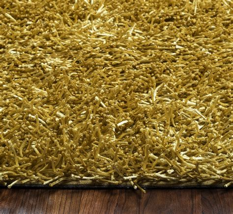 Area Rugs 5 X 6 Kempton Ultra Plush Tufted Area Rug In Solid Gold 3 6 Quot X 5 6 Quot