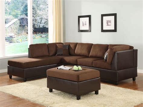 comfort living comfort living dark left arm facing sectional from