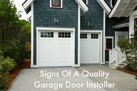 Quality Garage Door Services by Searching For A Quality Garage Door Installer Answer