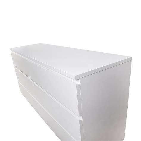 26 malm 6 drawer white dresser storage