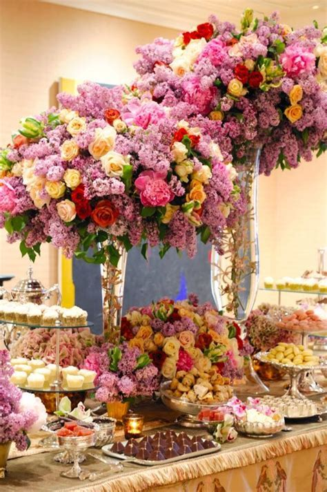 Preston Bailey's Elevated Wedding Reception Centerpieces