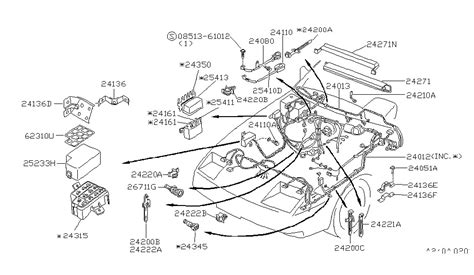 part diagram 300zx wiring diagram with description