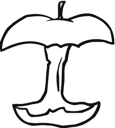 coloring apple clipart best apple pictures to color clipart best