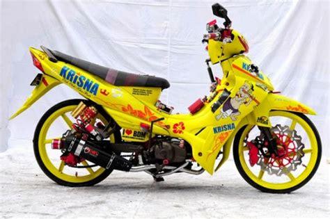 gambar modifikasi motor yamaha jupiter  terbaik