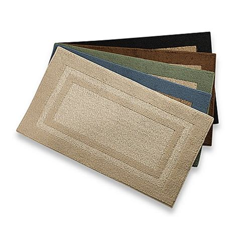 Bed Bath Beyond Bathroom Rugs Metro Border Accent Rugs Bedbathandbeyond
