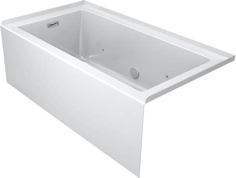 heated jacuzzi bathtub faucet com lns6036brl2hsw in white by jacuzzi