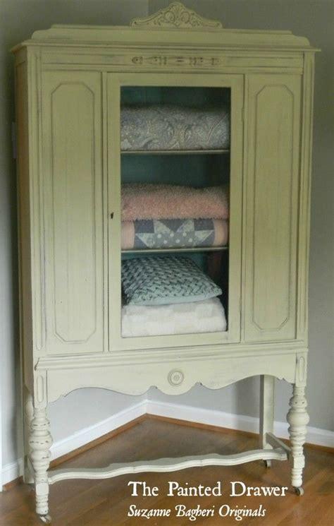 Vintage Linen Closet by Vintage Linen Cabinet Painted Furniture