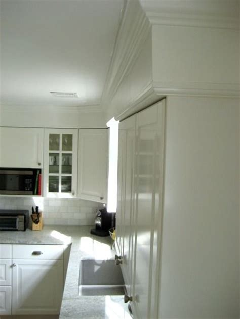 adding crown molding to ikea kitchen cabinets ikea lidingo kitchen installation with crown molding add