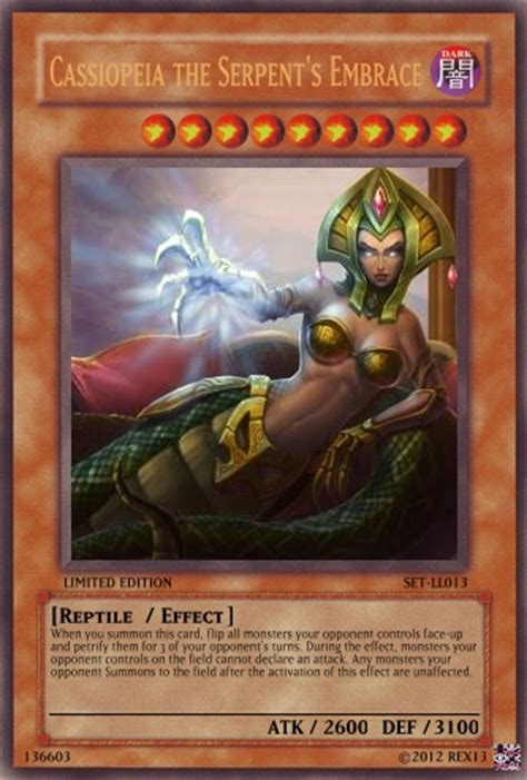 League Of Legends Digital Gift Card - cassiopeia lol yu gi oh card by poppixierex on deviantart