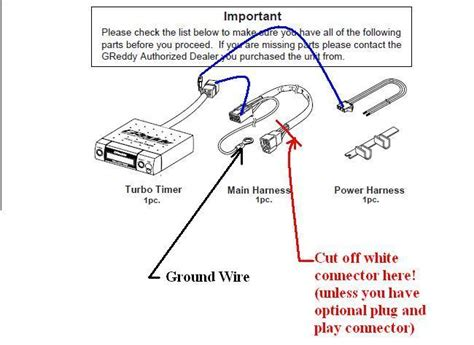 blitz dual turbo timer wiring diagram wiring diagram