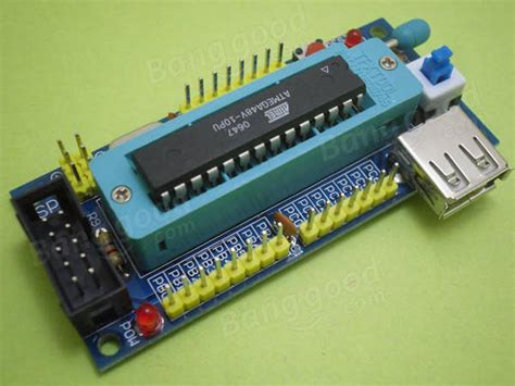 System Minimum Avr Atmega8 Atmega48 Atmega88 new 5pcs diy atmega8 minimum system board atmega48 atmega88 minimum system board avr kit