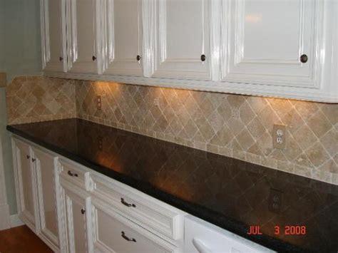 Diamond Kitchen Cabinets Reviews by Travertine Backsplash From Stone Art Works Dba In Katy Tx