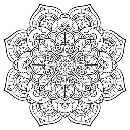 scenic coloring hard coloring pages