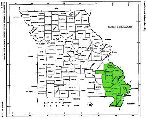 Search Semo Southeast Missouri Map