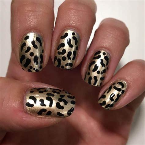 leopard designs leopard nail designs design trends premium psd vector