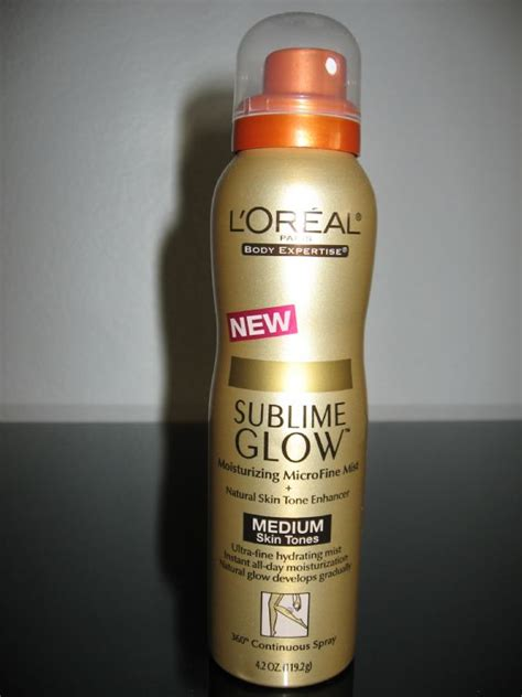 Review Loreal Sublime Glow by L Oreal Sublime Glow Moisturizing Microfine Mist