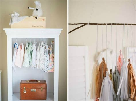 Where To Hang Clothes Without Closet by Nurseries Without Closets Project Nursery
