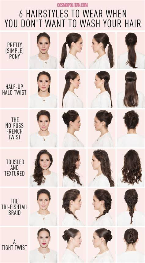 can you wash your hair before you color it 17 best images about lazy hairstyles on easy