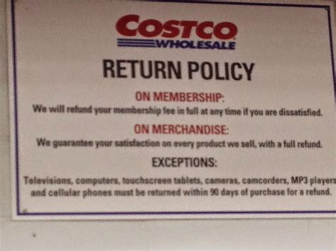 do you really what you re costco return