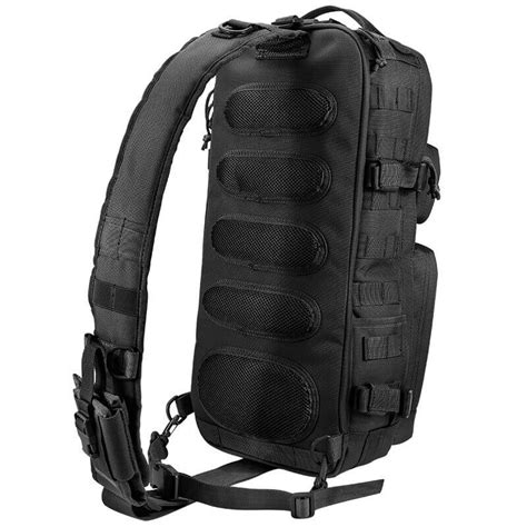 tactical sling pack backpacks loaded gear gx 300 tactical sling backpack black