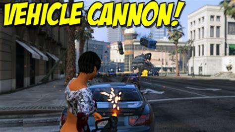 Mod Gta 5 Car Gun   vehicle cannon mod quot car gun quot for grand theft auto 5 pc